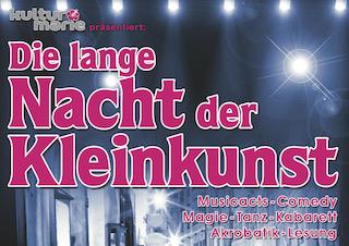 """""""Die lange Nacht der Kleinkunst"""" im HAUS 13 - Die Veranstaltungen sind leider ausverkauft!"""