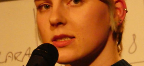 Slam Poetry mit Karina May und Gästen am Samstag, 6. November 2021